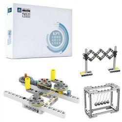 Kazi KJ30092 (NOT Lego Mindstorms EV3 Wedo 2.0 STEAM Kp1 ) Xếp hình Làm Quen Cơ Cấu Truyền Động 433 khối