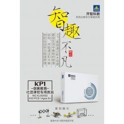 Kazi KJ30092 30092 Xếp hình kiểu Lego TECHNIC Kaishi Science And Education KP1 Poker Space Association Courses Làm Quen Cơ Cấu Truyền động