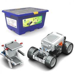 Kazi KJ30093 30093 Xếp hình kiểu Lego TECHNIC Kaishi Science And Education KP2 Popular School Curriculum Reform Động Cơ Pin 418 khối có động cơ pin