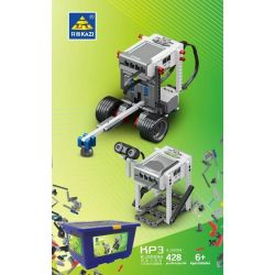 Kazi KJ30094 30094 Xếp hình kiểu LEGO Technic KP3 lập trình 428 khối điều khiển từ xa