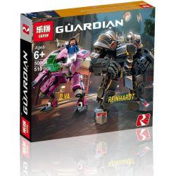Lepin 50004 Xinh 8325 8326 (NOT Lego Overwatch 75973 D.va & Reinhardt ) Xếp hình Người Máy Của D.va Và Reinhardt 455 khối