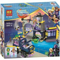 Bela 10689 Lari 10689 Xếp hình kiểu Lego DC SUPER HERO GIRLS Batgirl Secret Bunker Bat Female Secret Branch Căn Hầm Bí Mật Của Batgirl 351 khối