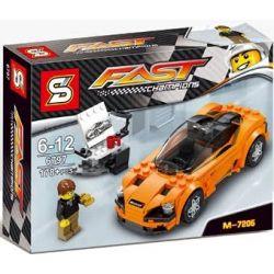 Lepin 28008 Sembo 6797 607016 Bela 10776 Wangao 7005 (NOT Lego Speed Champions 75880 Speed Champions:mclaren 720S ) Xếp hình Siêu Xe Ô Tô Mclaren 720S 161 khối