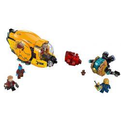 NOT Lego MARVEL SUPER HEROES 76080 Ayesha's Revenge Galaxy Guards 2 Auras , Bela 10745 Lari 10745 Xếp hình Sự Trả Thù Của Ayesha's 323 khối