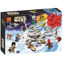 NOT Lego STAR WARS 75213 Star Wars Advent Calendar Festival Planet Wars Countdown Calendar , Bela 11013 Lari 11013 Xếp hình Bộ Lịch Star Wars 307 khối