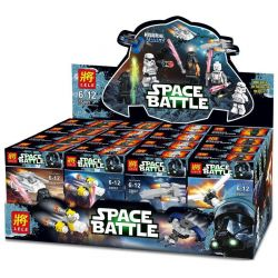 Lele 35001 (NOT Lego Star wars 75146 Star Wars Advent Calendar ) Xếp hình Đón Năm Mới Ở Thế Giới Của Các Anh Hùng Star Wars 282 khối