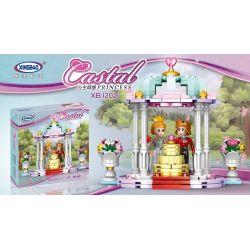 XINGBAO XB-12021 12021 XB12021 Xếp hình kiểu Lego DISNEY PRINCESS Wedding Scene Đám cưới công chúa 193 khối