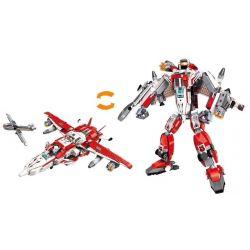 Enlighten 3304 (NOT Lego Transformers Blast Ranger ) Xếp hình Người Máy Biến Hình Phi Thuyền 747 khối