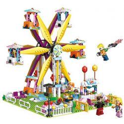 PanlosBrick 692009 Panlos Brick 692009 Xếp hình kiểu Lego Paradise Romantic Ferris Wheel Khu Vui Chơi 724 khối