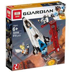 Lepin 50006 (NOT Lego Overwatch 75975 Watchpoint: Gibraltar ) Xếp hình Tàu Vũ Trụ Gibraltar 730 khối