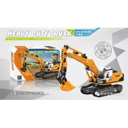 Xingbao XB-03038 (NOT Lego Heavy Duty Truck Heavy Duty Truck:excavator ) Xếp hình Máy Xúc 722 khối
