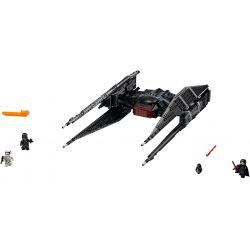 Bela 10907 Lari 10907 LEPIN 05127 Xếp hình kiểu Lego STAR WARS Kylo Ren's TIE Fighter Kello Lun's Titanium Warfare Con Tàu Chiến Đấu Của Kylo Ren 630 khối