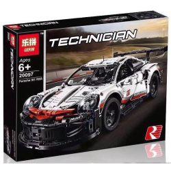 Lepin 20097 Lele 38057 Sheng Yuan 7050 SY7050 Bela 11171 Jisi 13387 White Box 11001 (NOT Lego Technic 42096 Porsche 911 Rsr ) Xếp hình Xe Đua Thể Thao 1580 khối