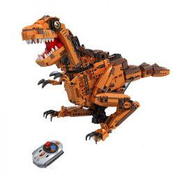 Winner 7106 Xếp hình kiểu Lego TECHNIC Splicing RC Dinosaur With Lights And Sound Technology Assembly Remote Control Dinosaur Khủng Long Bạo Chúa Điều Khiển Từ Xa 1092 khối điều khiển từ xa