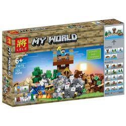Lele 33075 (NOT Lego Minecraft My World ) Xếp hình Sáng Tạo 723 khối