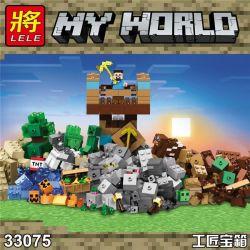 LELE 33075 Xếp hình kiểu Lego MINECRAFT My World Craftsman Sáng Tạo 723 khối