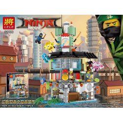LELE 31099 Xếp hình kiểu THE LEGO NINJAGO MOVIE The LELE NINJA Movie Phantom Ninja Ninja City Reduced Edition Thành Phố Ninja 716 khối