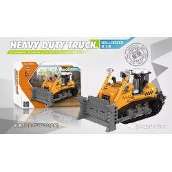 XINGBAO XB-03039 03039 XB03039 Xếp hình kiểu Lego Heavy Duty Truck Bulldozer Heavy Duty Truck Máy ủi 703 khối