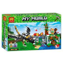 Lele 33162 (NOT Lego Minecraft Attack Of The Dragon Edge ) Xếp hình Tấn Công Trạm Rồng 323 khối