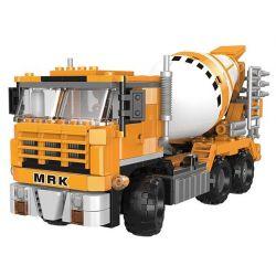 Xingbao XB-03040 (NOT Lego Heavy Duty Truck Heavy Duty Truck ) Xếp hình Ô Tô Trộn Bê Tông 654 khối