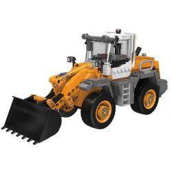 XINGBAO XB-03035 03035 XB03035 Xếp hình kiểu Lego Heavy Duty Truck Forklift Loader Heavy Duty Truck Máy Xúc Bánh Hơi 654 khối