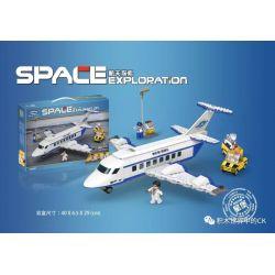 XINGBAO XB-16003 16003 XB16003 Xếp hình kiểu Lego Space Exploration large Transport Airplane Aerospace Exploration Airliner Máy Bay Chở Khách 631 khối