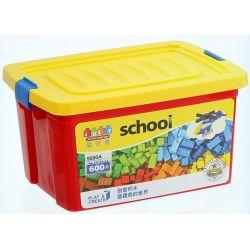 Jun Da Long Toys Jdlt 9500A (NOT Lego Classic Magic Pieces Transforming Into Vessels ) Xếp hình Những Mảnh Ghép Biến Hình Diệu Kỳ 600 khối