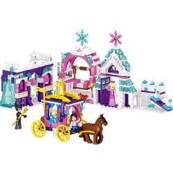 Lele 37066 (NOT Lego Disney Princess Happy Princess ) Xếp hình Công Viên Trong Mơ Của Công Chúa gồm 4 hộp nhỏ lắp được 4 mẫu 447 khối