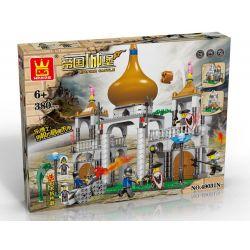 WANGE 49031N Xếp hình kiểu Lego CASTLE Attack The Castle Tấn công tòa lâu đài 380 khối