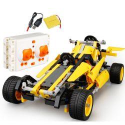 SDL 2017A-23 201723 Xếp hình kiểu Lego TECHNIC Racing Car F1 xe đua điều khiển từ xa 441 khối điều khiển từ xa