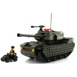 Enlighten 0494 Qman 0494 Xếp hình kiểu Lego Century Military Enlightenment Tank Xe Tăng 327 khối
