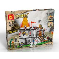 WANGE 49033N Xếp hình kiểu Lego CASTLE Attack The Castle Tấn công lâu đài 289 khối