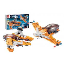 Jie Star 20202 (NOT Lego Star wars Agents Warships & Dragon Fighter ) Xếp hình Phi Thuyền Chiến Đấu Rồng Và Phi Thuyền Mật Vụ 290 khối