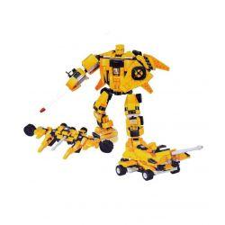 JIE STAR 27024 Xếp hình kiểu Lego CREATOR 3 IN 1 Plover Warrior Chiến binh Plover 300 khối
