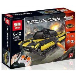 Lepin 23005 Rebrickable MOC-2096 (NOT Lego Technic The Remote Control Tank ) Xếp hình Xe Tăng Điều Khiển Từ Xa 1580 khối