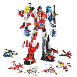 Enlighten 1405 1405-1 1405-2 1405-3 1405-4 1405-5 1405-6 Qman 1405 1405-1 1405-2 1405-3 1405-4 1405-5 1405-6 Xếp hình kiểu Lego TRANSFORMERS Destroyer Ares Change Series Shengnan War Gods Have Been Ch