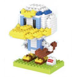 HuiMei Star City Xing Dou Cheng HM200 Xếp hình kiểu LEGO Duplo Donald Duck Vịt Donald 266 khối