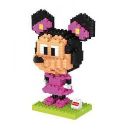 HUIMEI STAR CITY XING DOU CHENG HM198 Xếp hình kiểu Lego Duplo DUPLO Minnie Mouse Nàng chuột Minnie 313 khối