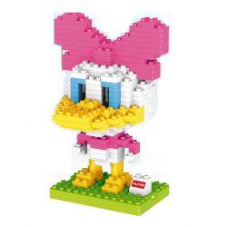 HUIMEI STAR CITY XING DOU CHENG HM193 Xếp hình kiểu Lego Duplo DUPLO Daisy Duck Cô Nàng Vịt Daisy 244 khối
