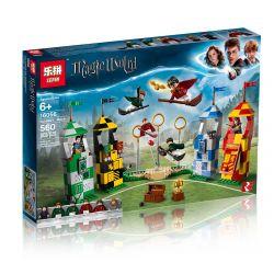 Bela 11004 Lari 11004 BLANK 80029 LELE 39147 LEPIN -- 16056 Xếp hình kiểu Lego HARRY POTTER Quidditch Match Magic World Harry Potter Quiiti Competition Cuộc đua Chổi Bay 500 khối