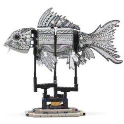 Lepin 20092 Sheng Yuan 7006C (NOT Lego Forma 81003 Ink Koi Skin ) Xếp hình Cá Koi Mực Động Cơ Pin 342 khối