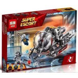 Bela 11022 Lari 11022 LEPIN 07110 SHENG YUAN SY 1112 Xếp hình kiểu Lego MARVEL SUPER HEROES Quantum Realm Explorers The Ant Articles Are Brave In The World Ác Mộng Thâm Nhập Thế Giới Lượng Tử 200 khối