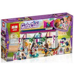 Lepin 01066 (NOT Lego Friends 41344 Andrea's Accessories Store ) Xếp hình Cừa Hàng Trang Sức Của Andrea 329 khối