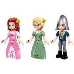 Enlighten 2609 Qman 2609 Xếp hình kiểu Lego PRINECESS LEAH Prinecess Leah Angel Princess Ship Princess Lay Du Thuyền Hoàng Gia Của Công Chúa 442 khối