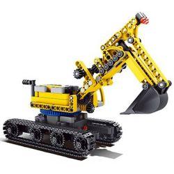 QIZHILE 23004 Xếp hình kiểu Lego MASTER BULIDER Architect Engineering Excavator Máy Xúc Xây Dựng 441 khối