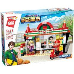Enlighten 1133 Qman 1133 Xếp hình kiểu Lego ColorfulCity Colorful City Be Easy To Facilitate Cửa Hàng Tiện Lợi Q-Store 319 khối