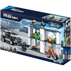CAYI 1515 Xếp hình kiểu Lego CLASSIC Attacking Command Post Bộ chỉ huy tấn công 431 khối
