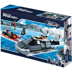 Cayi 1514 (NOT Lego SWAT Special Force Fighting At Sea ) Xếp hình Chiến Đấu Trên Biển 318 khối