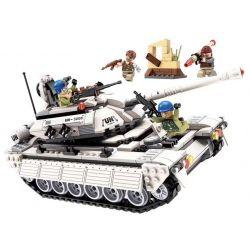 Enlighten 3206 Qman 3206 Xếp hình kiểu Lego ThunderMission Thunder Mission Tank Xe Tăng Của Quân đội Mỹ 429 khối