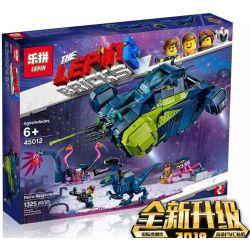 LARI 11241 LEPIN 45012 Xếp hình kiểu THE LEGO MOVIE 2 THE SECOND PART Lego Movie 2 Rex's Rexplorer! Phi Thuyền Chiến đấu Của Rex 1187 khối